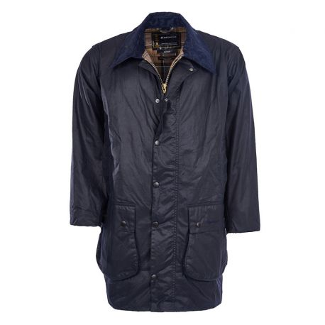 Barbour Jacke Olivgrün Herren - Classic Northumbria Wax Jacket