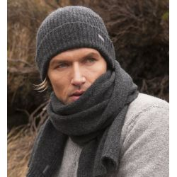 Fisherman Schal - Jersey stitch scarf