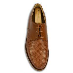 Handmacher Schuhe: Derby Flecht