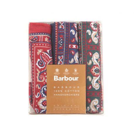 Barbour Baumwolltaschentücher – Paisley Handkerchief