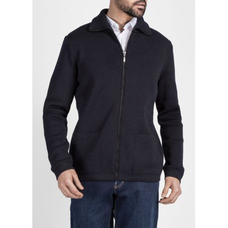 Saint James Strickjacke Herren – Rhône