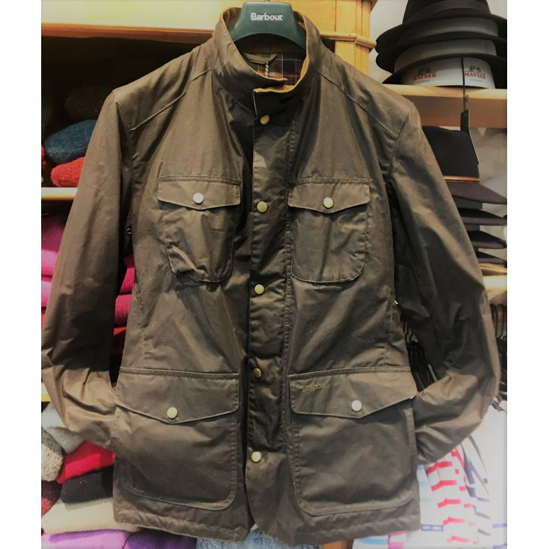 barbour jacke herren lightweight ogston waxed jacket. Black Bedroom Furniture Sets. Home Design Ideas