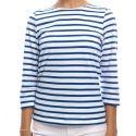 Saint James Shirt aus Baumwolle Damen – Galathee