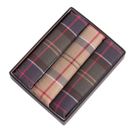 Barbour Tartan Pocket Squares
