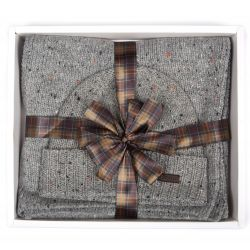 Barbour Giftset - Geschenkset Donegal knitted