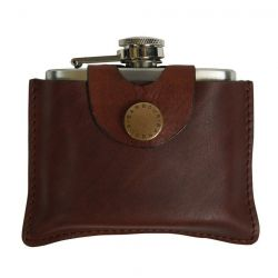 Barbour 4oz Hip Flask