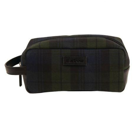 Barbour Kulturtasche im Tartan-Style - Tartan Wash Bag