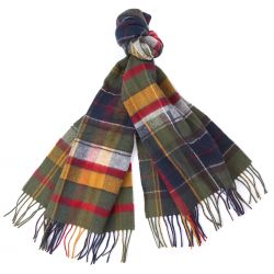 Barbour Schal - Mixed tartan scarf