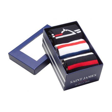 Saint James Socken – Geschenk Pack