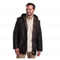 Barbour Jacke Olivgrün Herren – Durham Wax Jacket