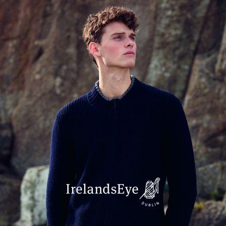 Irelandseye Strickjacke Herren - Rockbrook ribbed cardigan