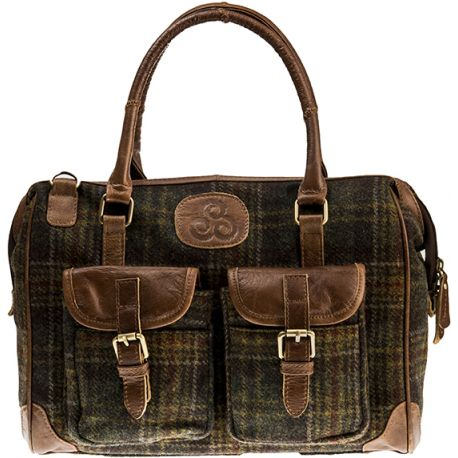 Aran Woolen Mills - Tartan Handtasche