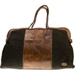 Aran Woolen Mills - Herringbone Handtasche