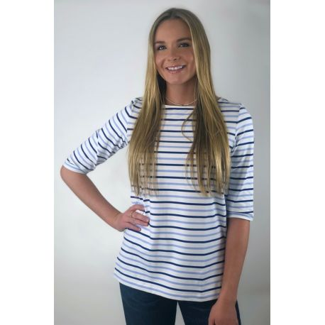 Saint James T-Shirt Damen – Phare multico