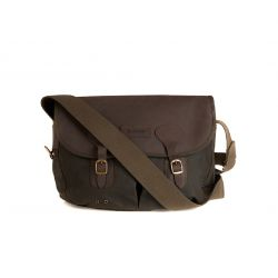 Tasche WAX LEATHER TARRAS - Olive