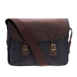 Tasche WAX LEATHER TARRAS - Navy