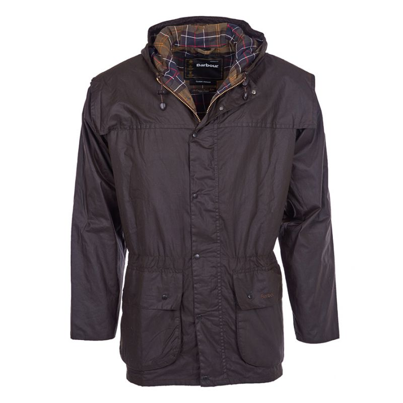 barbour jacke olivgr n herren durham wax jacket. Black Bedroom Furniture Sets. Home Design Ideas