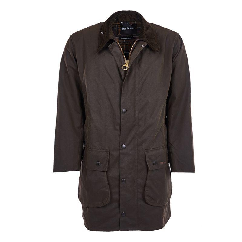 barbour jacke olivgr n herren classic northumbria wax jacket. Black Bedroom Furniture Sets. Home Design Ideas
